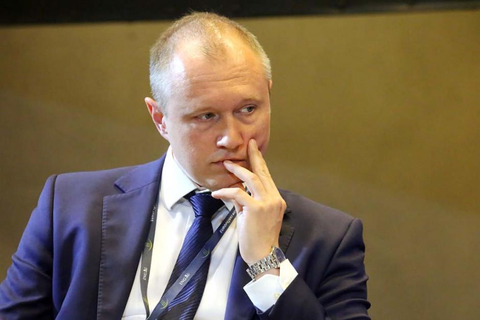 Przemysław Szulfer, dyrektor finansowy Warbud SA. Fot. PTWP
