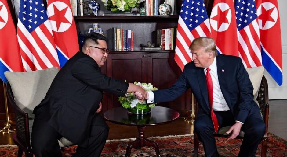 Donald Trump i Kim Dzong Un przykuli uwagę inwestorów