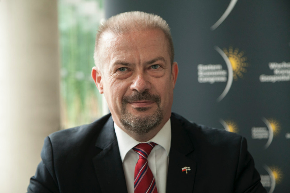 Andrzej Parafiniuk, prezes Podlaskiej Fundacji Rozwoju Regionalnego.