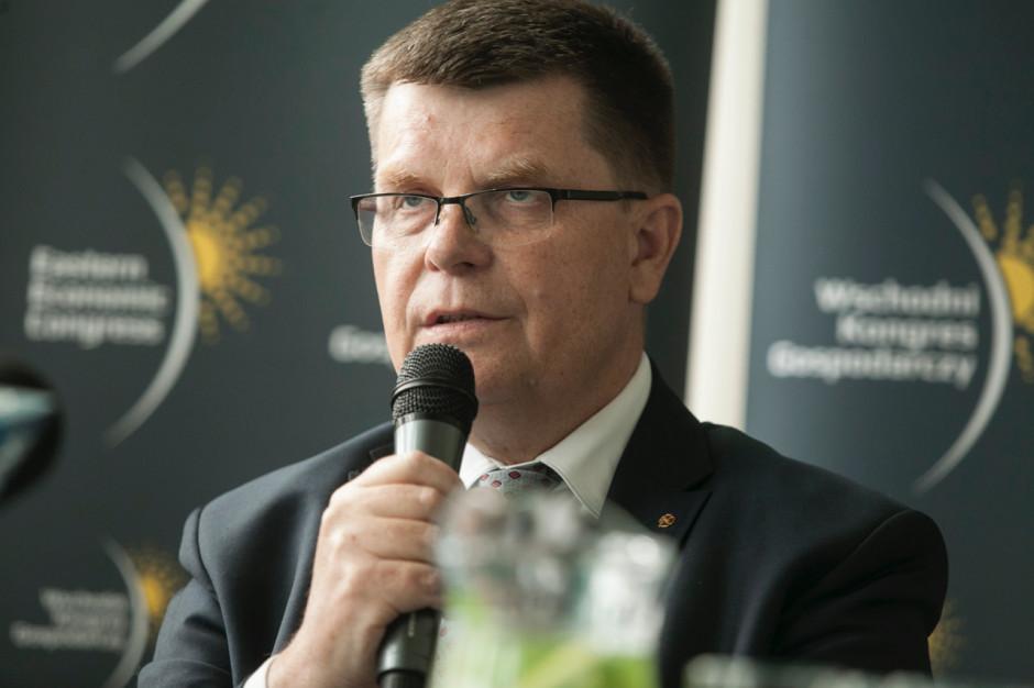 Jerzy Leszczyński, marszałek województwa podlaskiego.