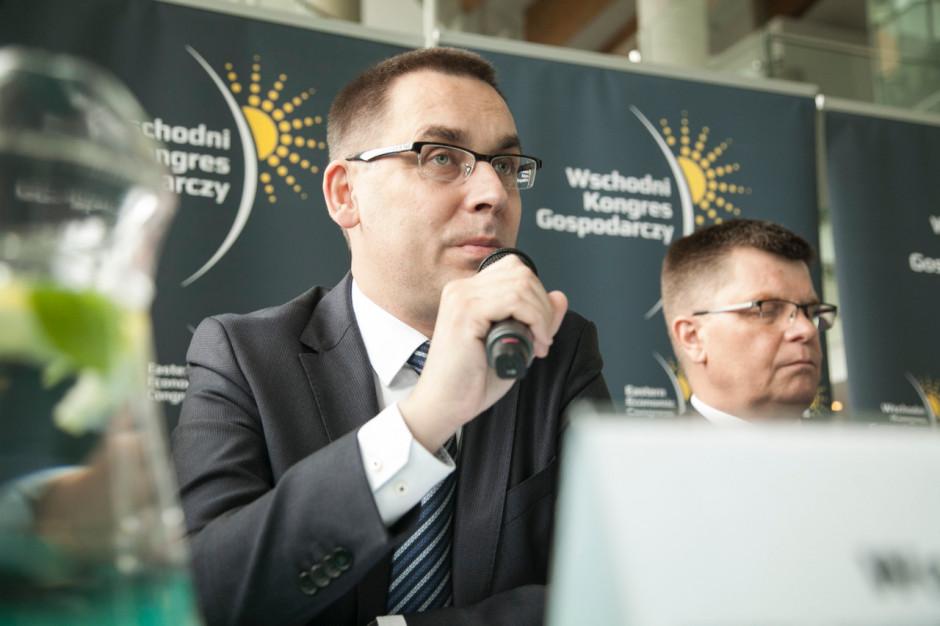 Wojciech Kuśpik, prezes PTWP, inicjator i organizator Wschodniego Kongresu Gospodarczego.