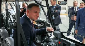 Andrzej Duda: przemysł wydobywczy i energetyka gwarantują bezpieczeństwo