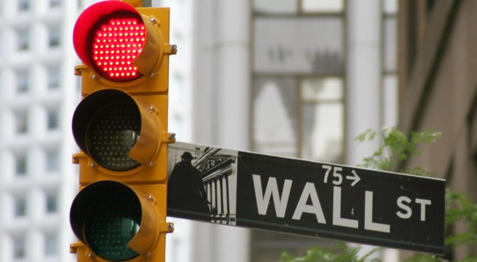 Wall Street lekko w dół na koniec sesji