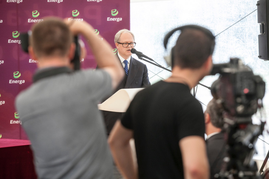 Arkadiusz Siwko, prezes Energi.