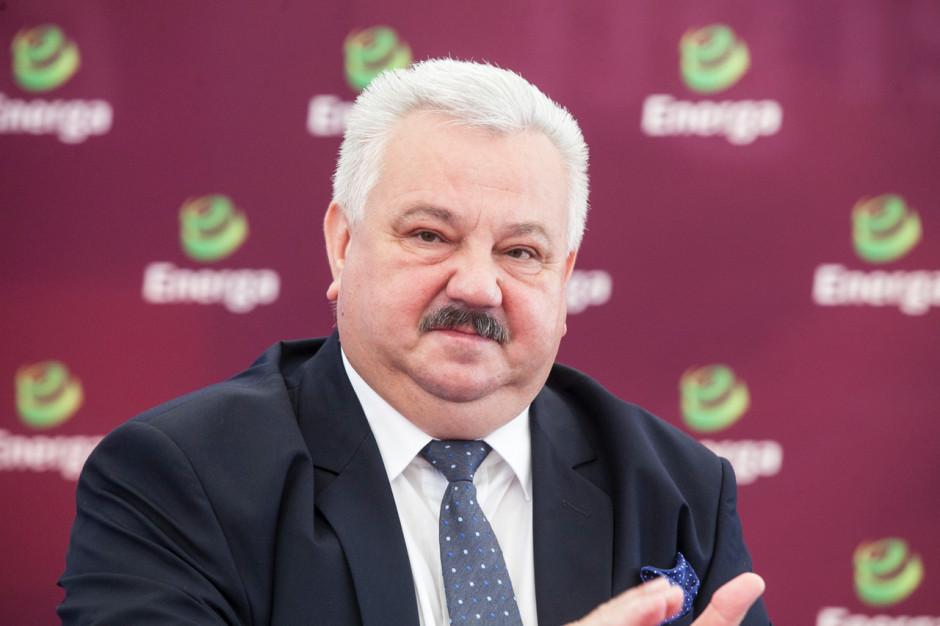 Edward Siurnicki, prezes Elektrowni Ostrołęka.
