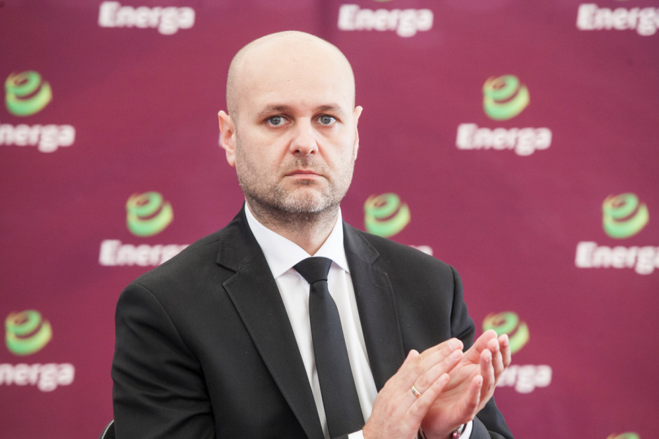 Robert Niewierski, członek zarządu Elektrowni Ostrołęka.
