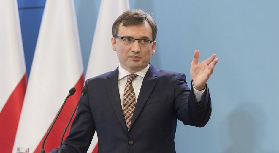 Ziobro: Jesteśmy przeciwko bezprawiu jakie narzuca KE