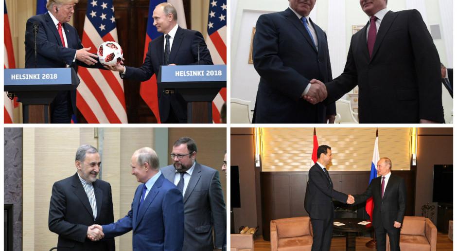 USA, Rosja i Izrael zgodziły się utrzymać Asada przy władzy