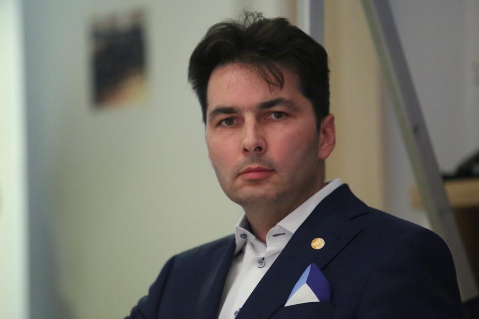 Arkadiusz Jaworowski, dyrektor ds. handlowych firmy Suempol. Fot. PTWP