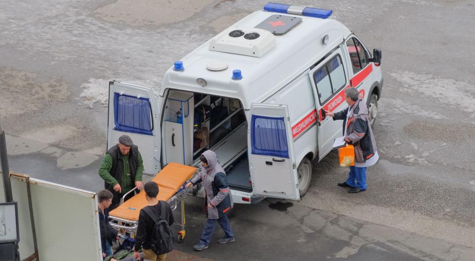 Głodujący górnicy w kopalni złota w Rosji trafili do szpitala