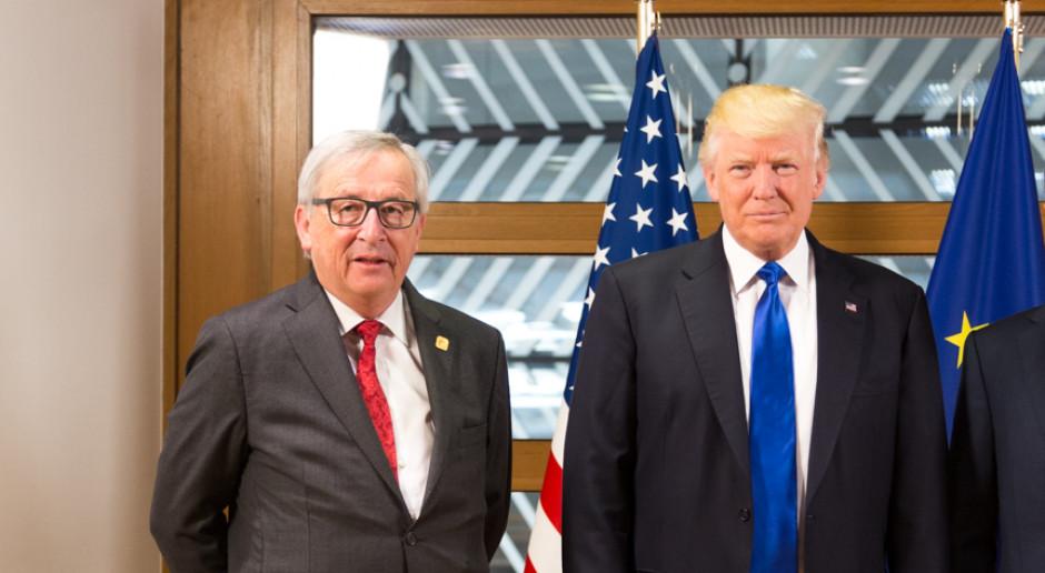 Donald Trump i Jean-Clude Juncker zarazili giełdy optymizmem