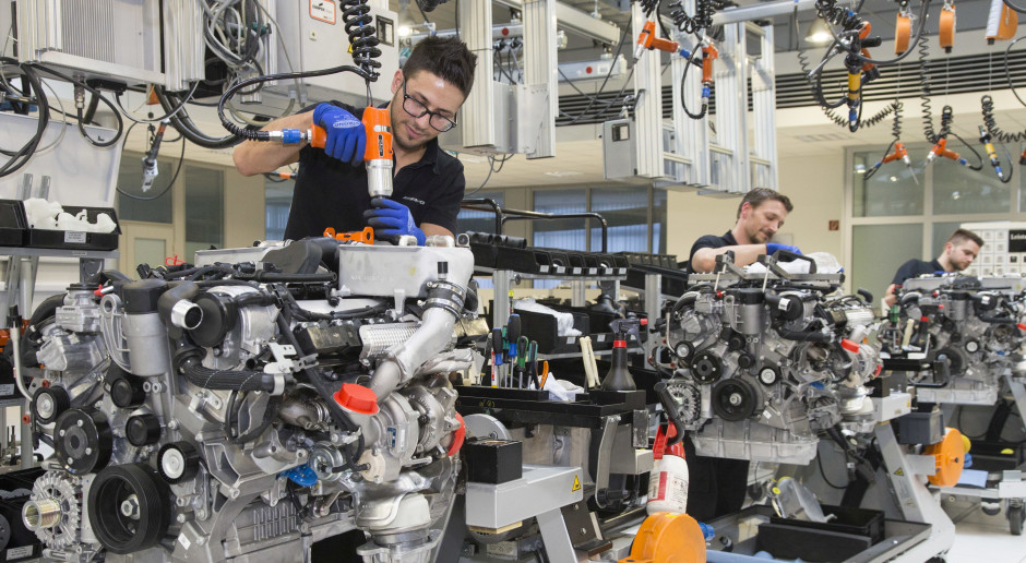 Mercedes wznawia produkcję w Chinach