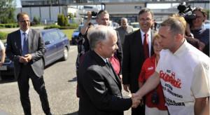 Związkowiec prosi Jarosława Kaczyńskiego o wsparcie działalności