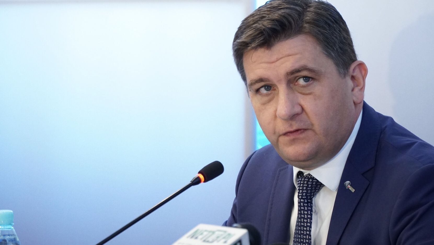 Prezes PGG Tomasz Rogala celuje w roczne wydobycie węgla w wysokości 30,5 mln ton (fot. PTWP / Andrzej Wawok)