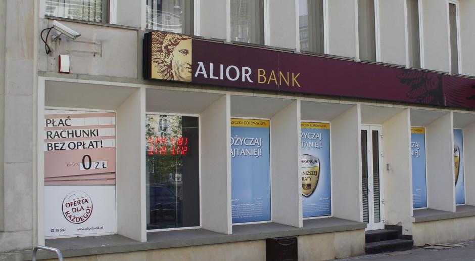 Alior Bank zapowiada gorszy wynik przez odpisy i rezerwy