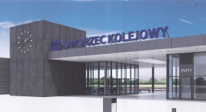 PKP, by wybudować dworzec, przeniosą 45-tonową ścianę