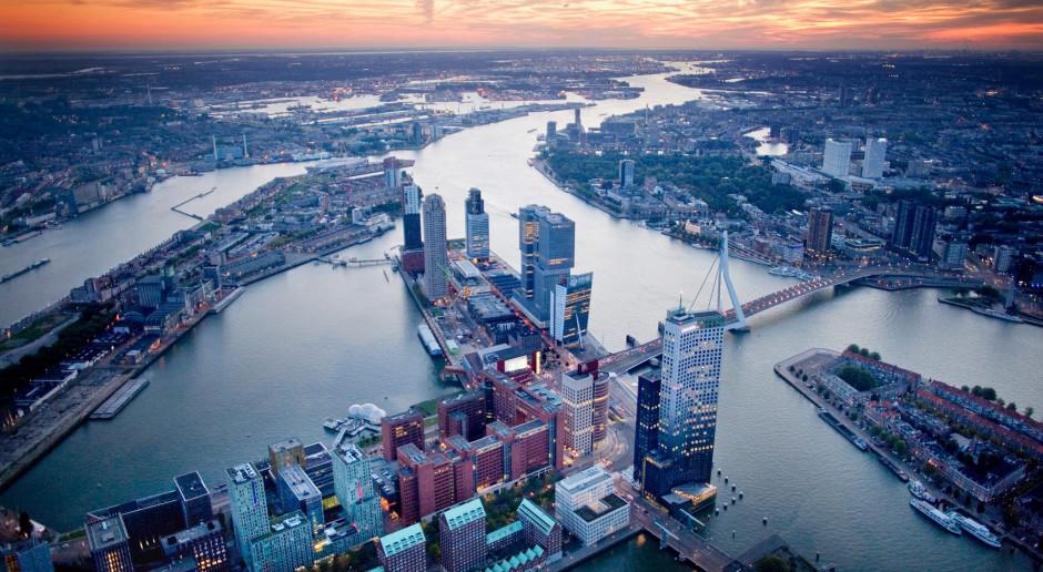 W Rotterdamie powstanie pierwsza na świecie pływająca farma mleczna