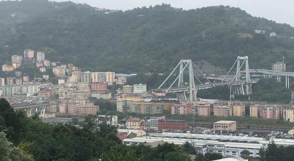 Katastrofa w Genui. Projektant mostu przestrzegał przed korozją