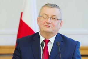 Andrzej Adamczyk liczy na realizację inwestycji sprzed 40 lat