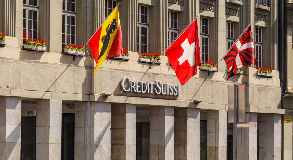 Szwajcarski Credit Suisse zamroził pieniądze rosyjskich oligarchów z uwagi na sankcje USA