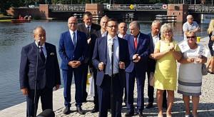 Premier złożył mocną deklarację ws. przekopu Mierzei Wiślanej