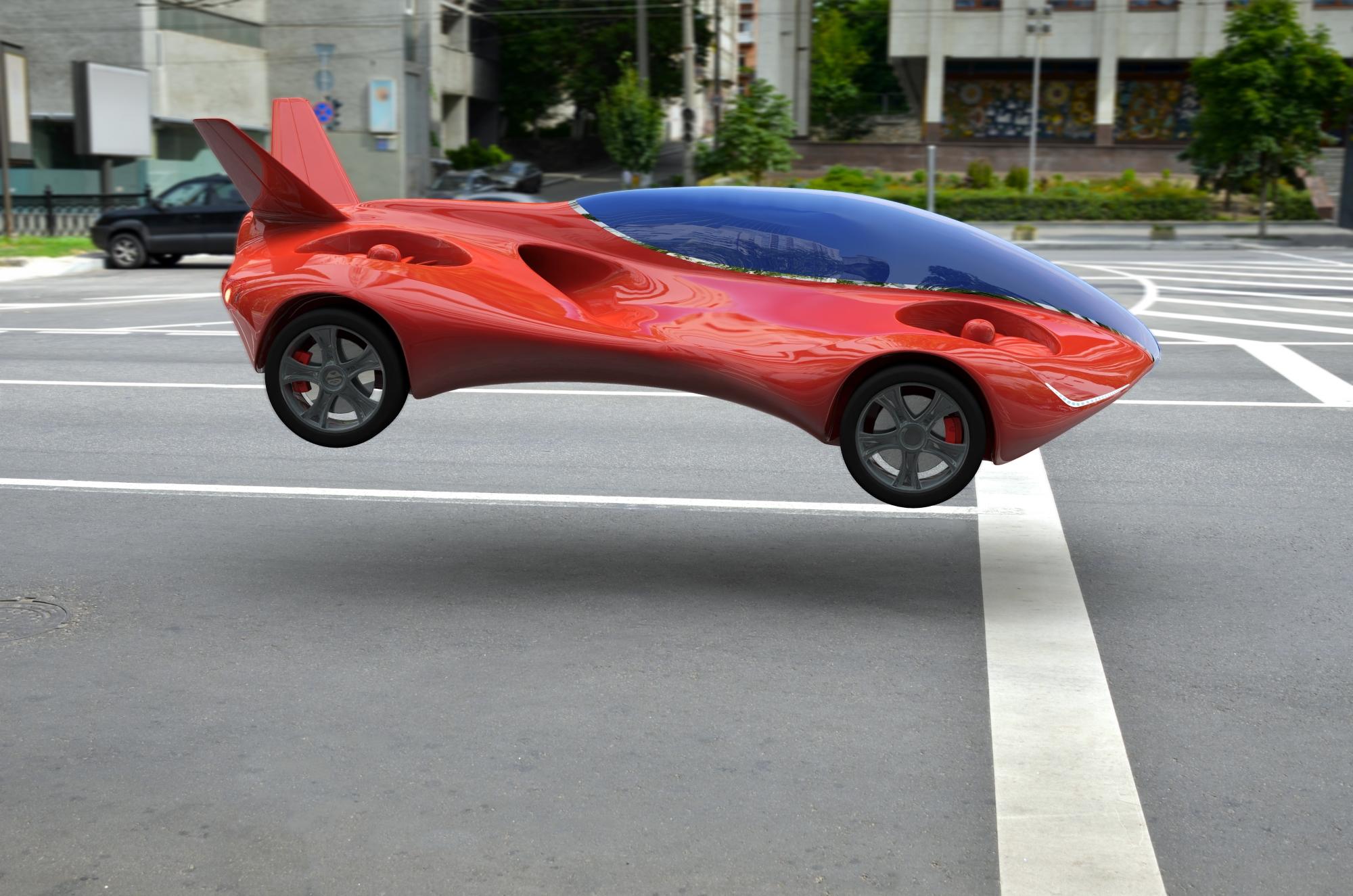 Czy jesteśmy coraz bliżej latających samochodów? (fot. Shutterstock - zdjęcie ilustracyjne)