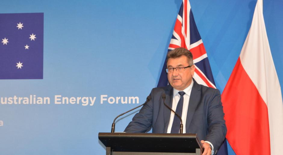 Polskie firmy górnicze i gazowe liczą na kontrakty w Australii