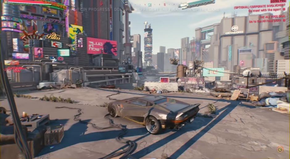 Cyberpunk 2077 wchodzi do gry. Narodziny legendy?