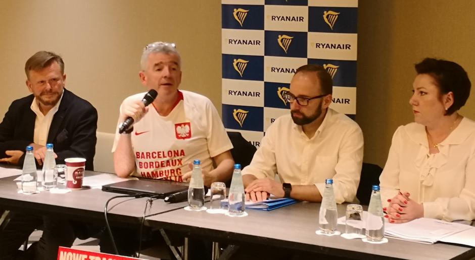 Michael O'Leary dla WNP.PL: budowa CPK to głupi pomysł