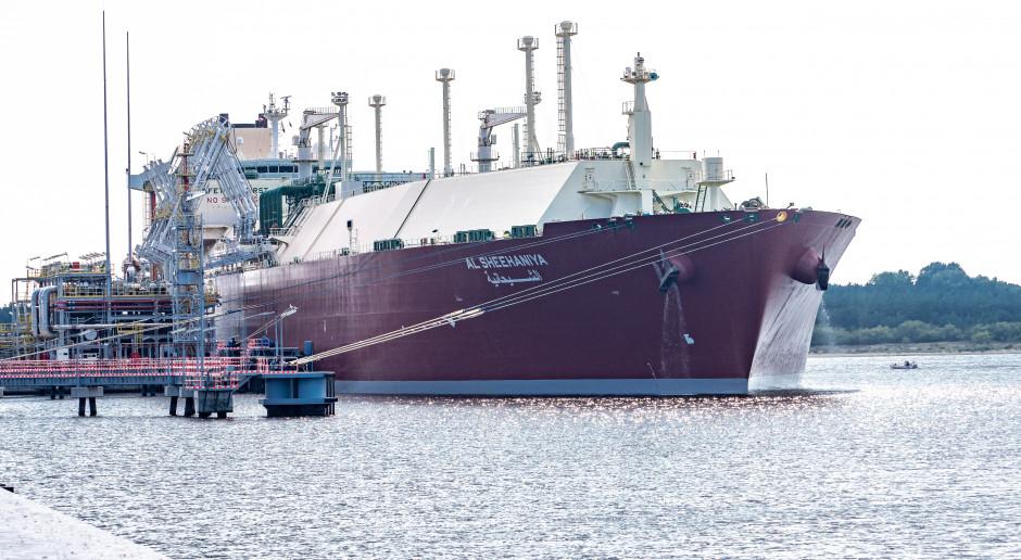 Świnoujście przyjęło już 63 statki z LNG