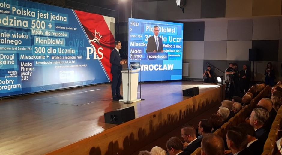 Premier obiecuje odbudowę torów i nową autostradę