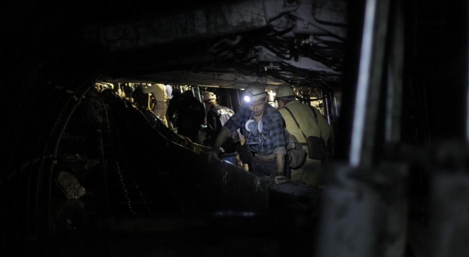 Silny wstrząs w rejonie jednej ze ścian wydobywczych kopalni Staszic