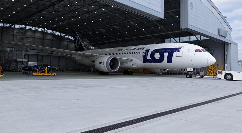 """Na lotnisku w Jasionce będzie """"zimować"""" 5 samolotów Dreamliner"""
