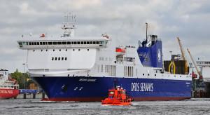 Poważne problemy promu na Bałtyku