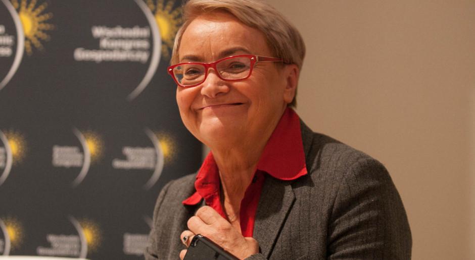 Henryka Bochniarz obawia się o 2019 i 2020 r.