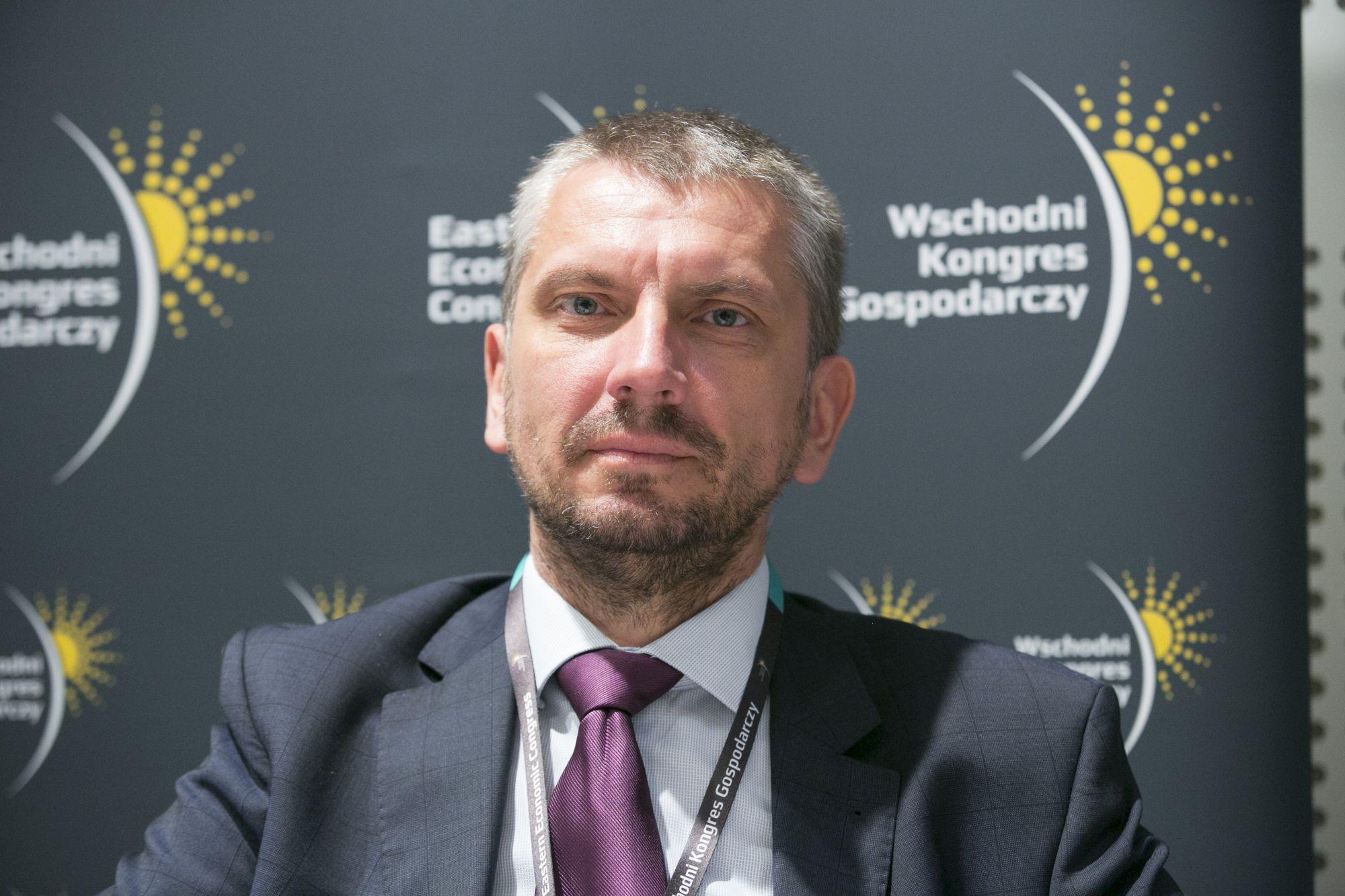 Rafał Szefler, dyrektor marketingu Polskiej Izby Przemysłu Drzewnego, fot. PTWP