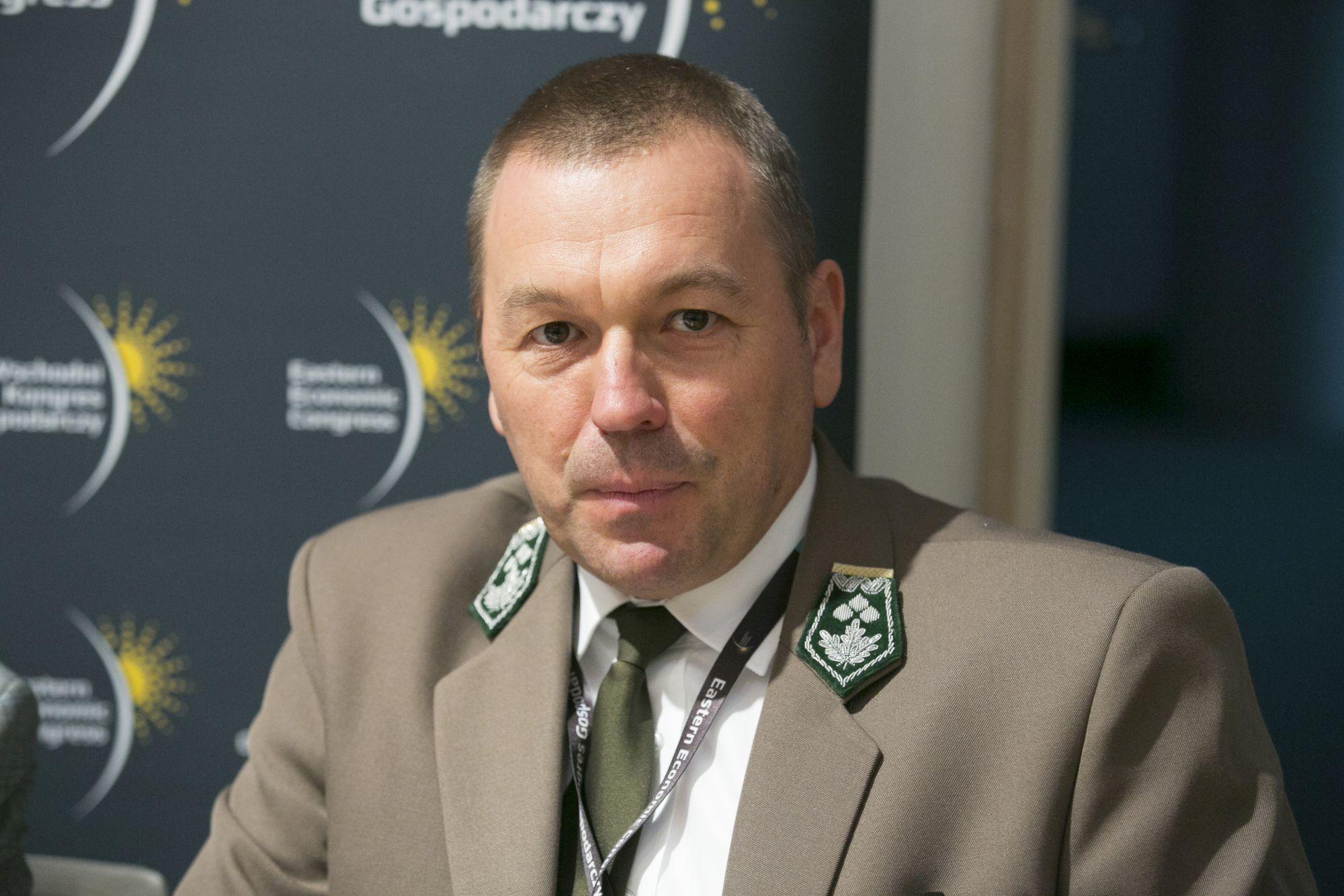 Andrzej Schleser, główny specjalista w Dyrekcji Generalnej Lasów Państwowych, fot. PTWP
