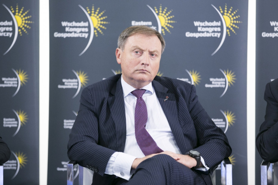 Wojciech Hann, członek zarządu Banku Gospodarstwa Krajowego (fot. PTWP)