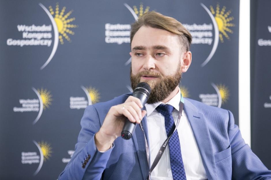 Adrian Malinowski - zastępca dyrektora, Departament Handlu i Współpracy Międzynarodowej,Ministerstwo Przedsiębiorczości i Technologii (fot. PTWP)