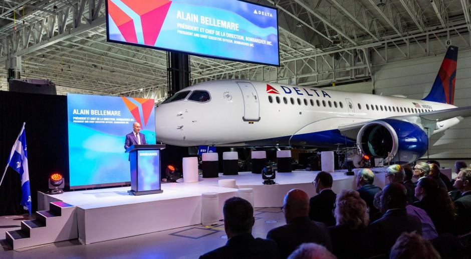 Airbus 220 wchodzi do floty Delta Airlines