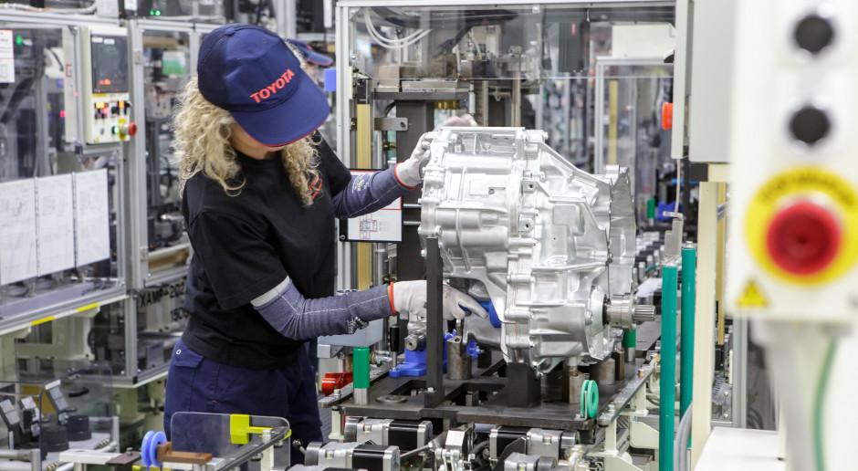 Fabryka Toyoty w Wałbrzychu zaczyna produkcję przekładni hybrydowych