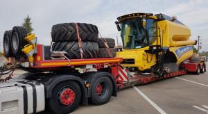 Nietypowy transport ponadgabarytowy przejechał z Polski do Danii