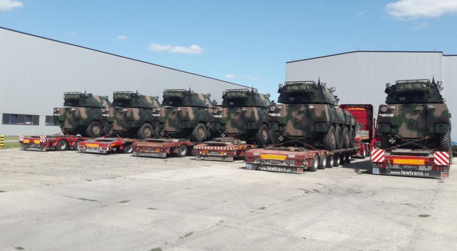 Strzelcy Podhalańscy odbierają V kompanijny moduł ogniowy Rak