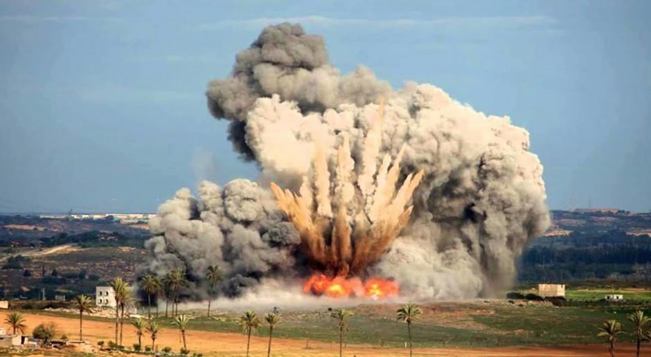 Eksplozja Mother of All Bombs, czyli Matki wszystkich Bomb Fot.youtube.com