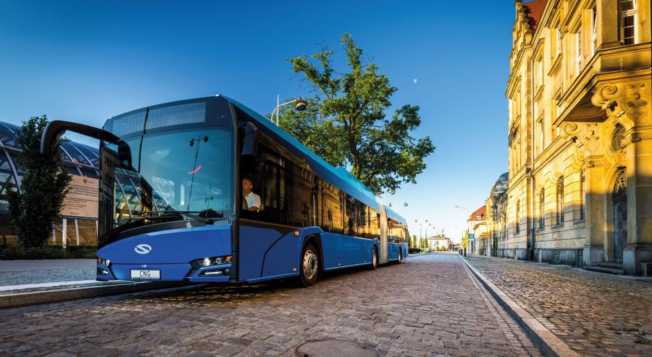 Solaris dostarczy autobusy CNG do Paryża