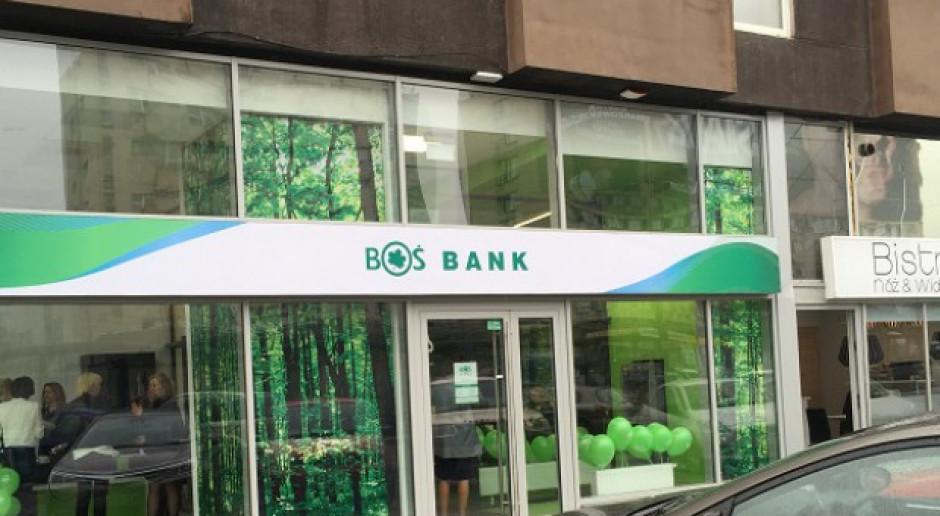 BOŚ Bank zwiększył zysk kwartalny o 80 proc.