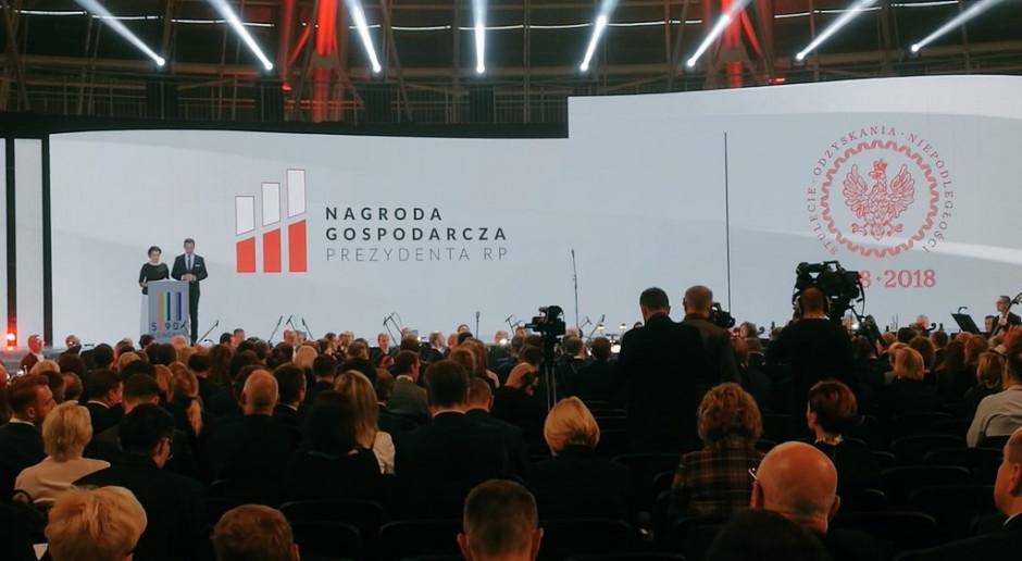 Wręczono Nagrody Gospodarcze Prezydenta