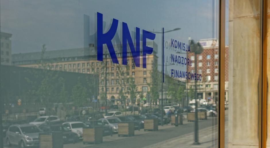 Piękna kasa KNF