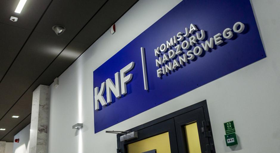 NIK zbada całość polityki finansowej KNF