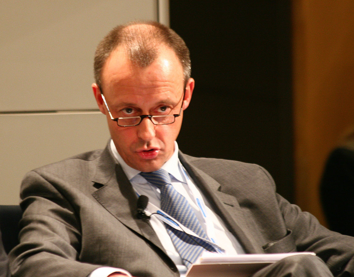 Friedrich Merz, konserwatywny krytyk Angeli Merkel i kandydat na szefa CDU, fot. Munich Security Conference 2010